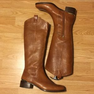 Brown Leather Louise et Cie riding boots